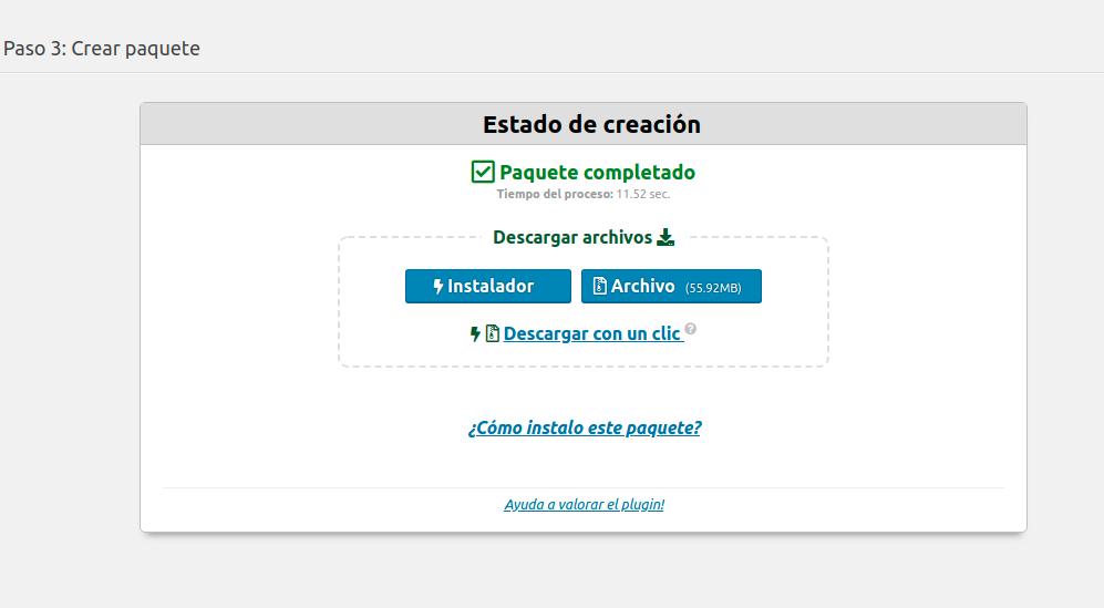 Ya estamos listos para migrar wordpress a otro servidor